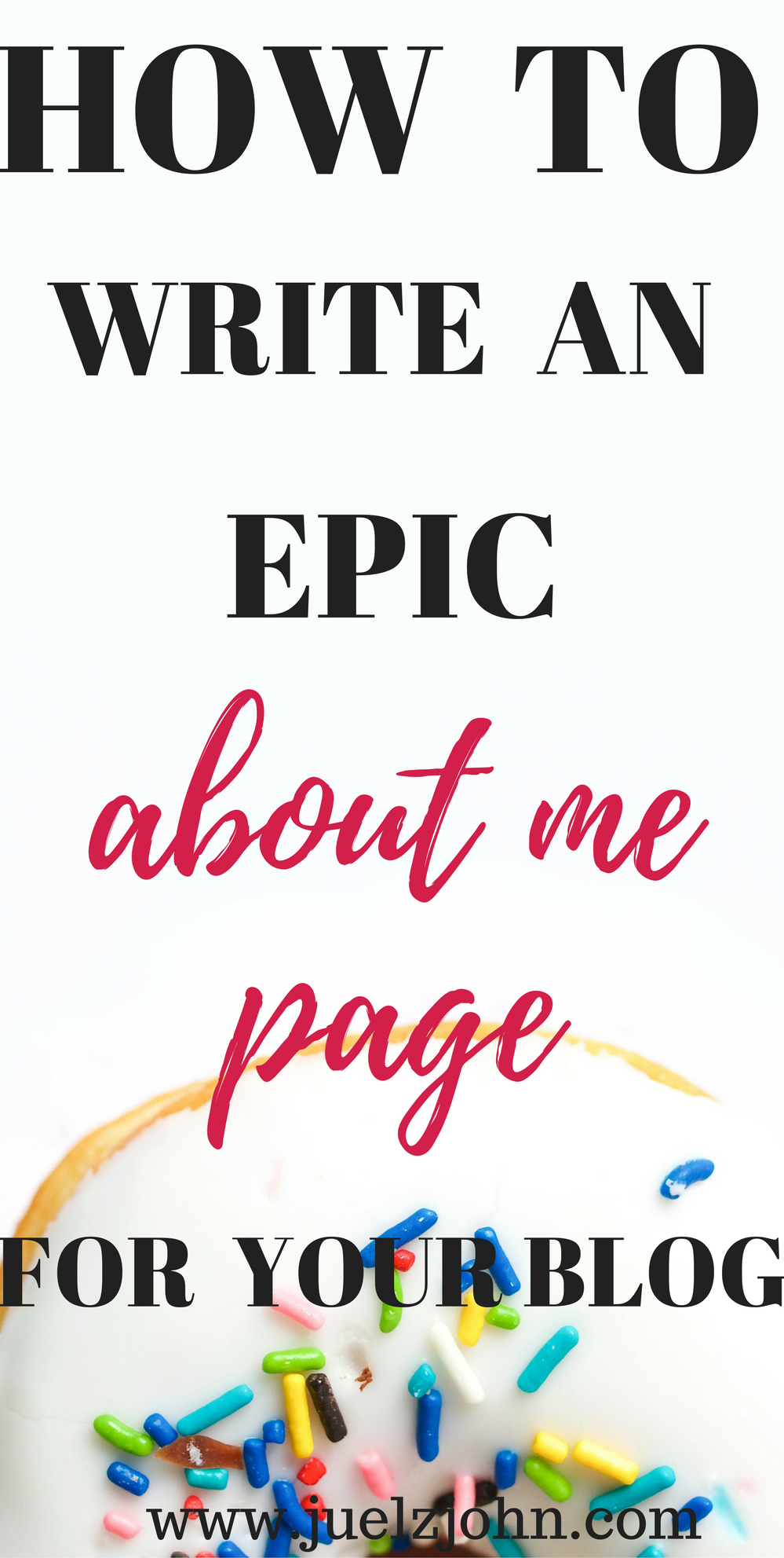Howto write an epic aboutmepage