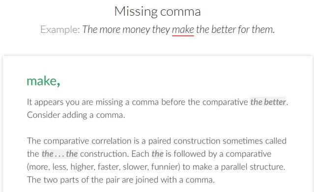 free grammar tool.Grammarly