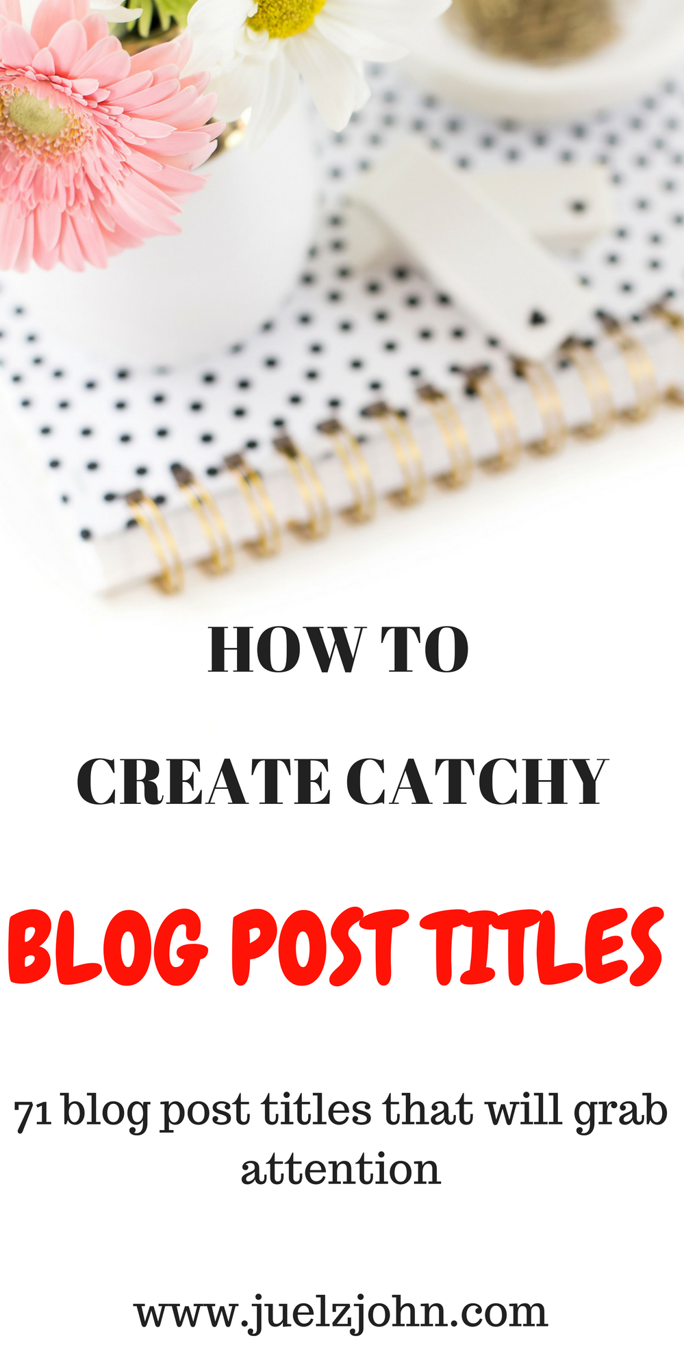 How to craft a catchy blog title