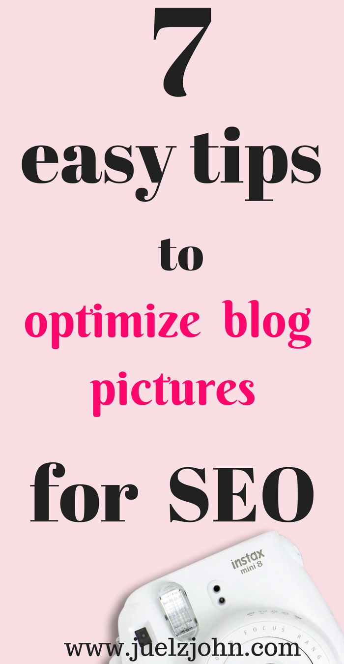 optimize blog pictures for seo