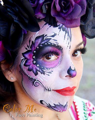 33 simple sugar skull makeup looks 2020 diy halloween