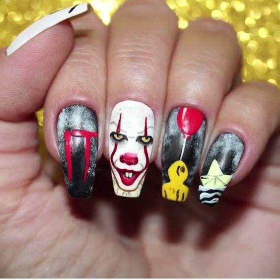 30 Easy Halloween nail art ideas to copy now , juelzjohn
