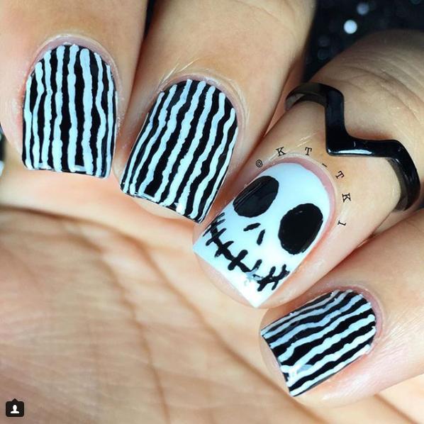Easy Halloween Nail Art Ideas: Easy-halloween-nail-art-ideas-2
