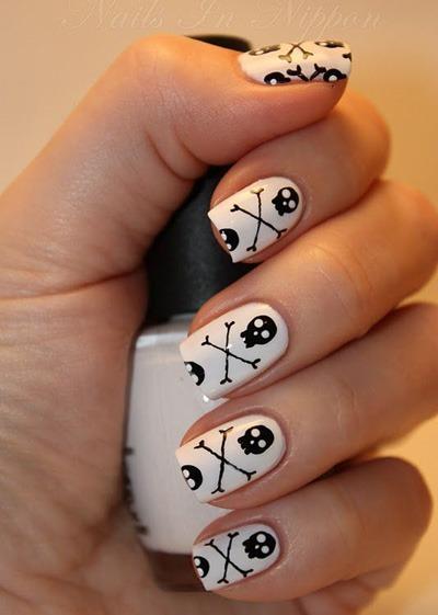 easy halloween nail art ideas