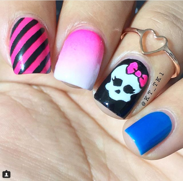 easy halloween nails art ideas