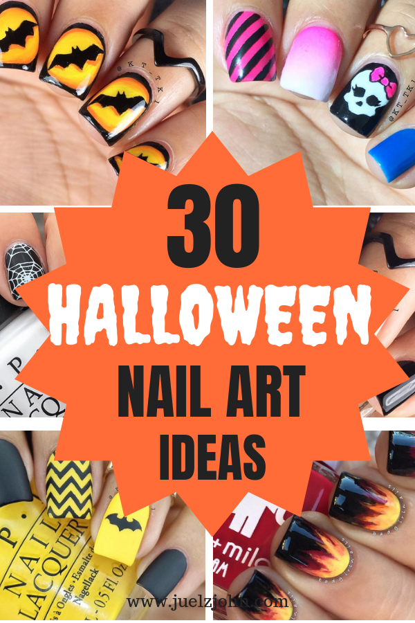 30 Easy Halloween nail art ideas to copy now , juelzjohn