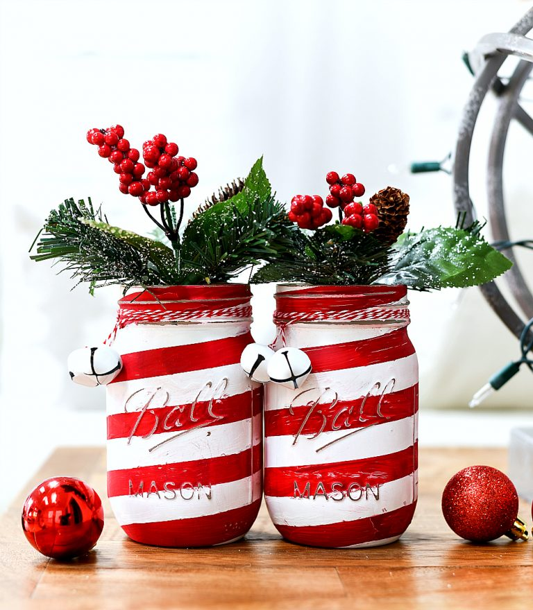 15 Fabulous And Festive Christmas Mason Jar Crafts Juelzjohn