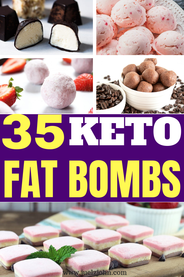 delicious keto fat bombs