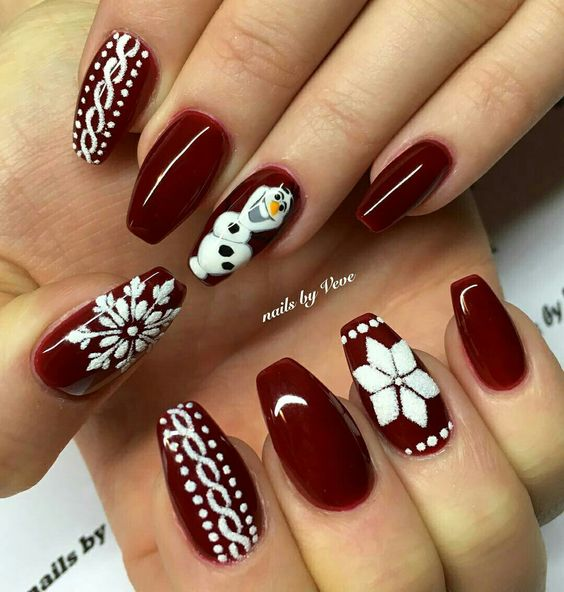 Easy Holiday Nail Art: 30 Festive And Easy Christmas Nail Art Designs You Must