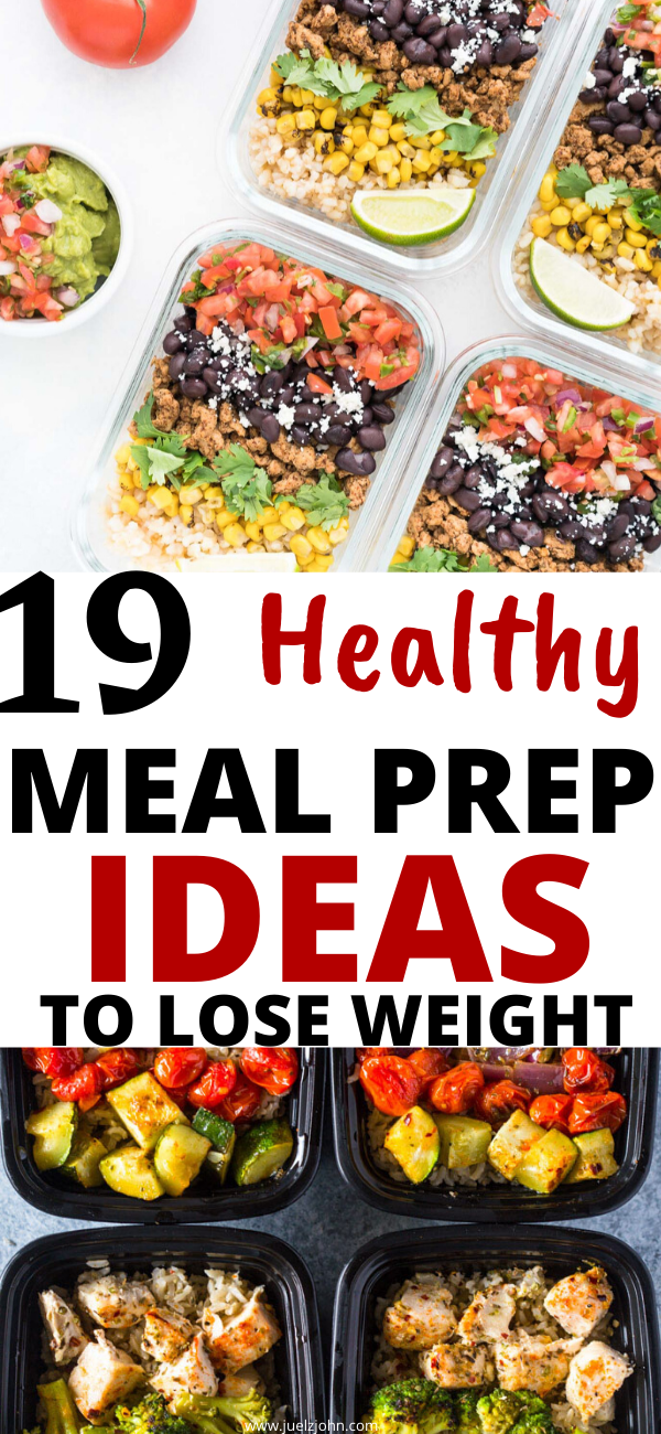 Easy meal prep ideas for weight loss