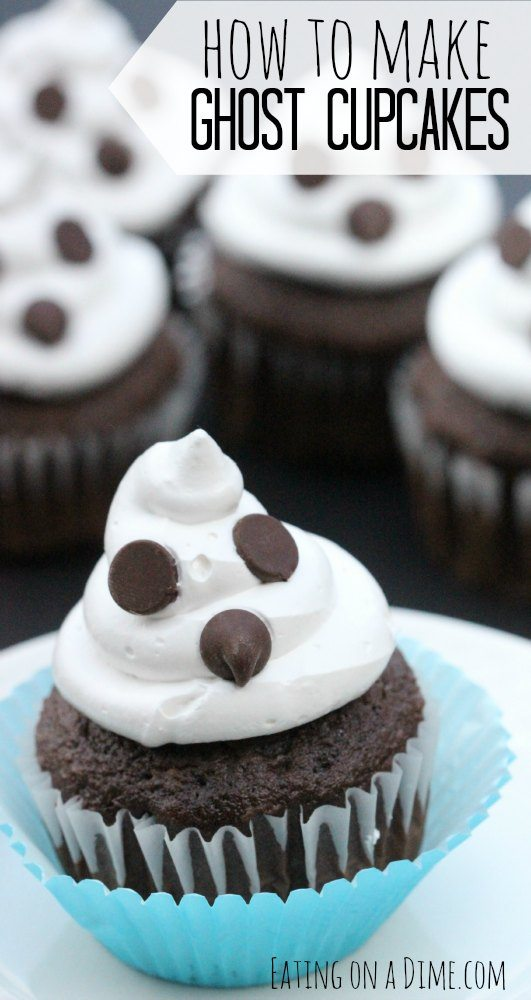 easy Halloween cupcakes
