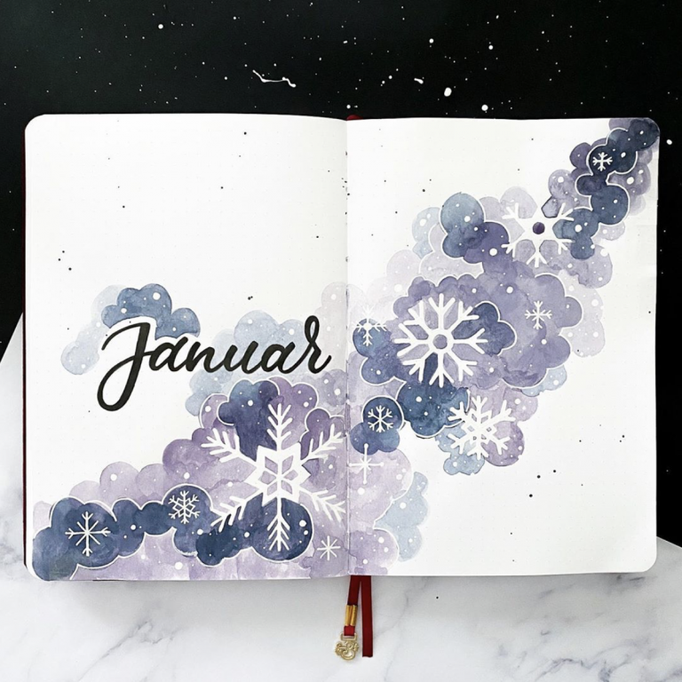 January monthly cover spreads