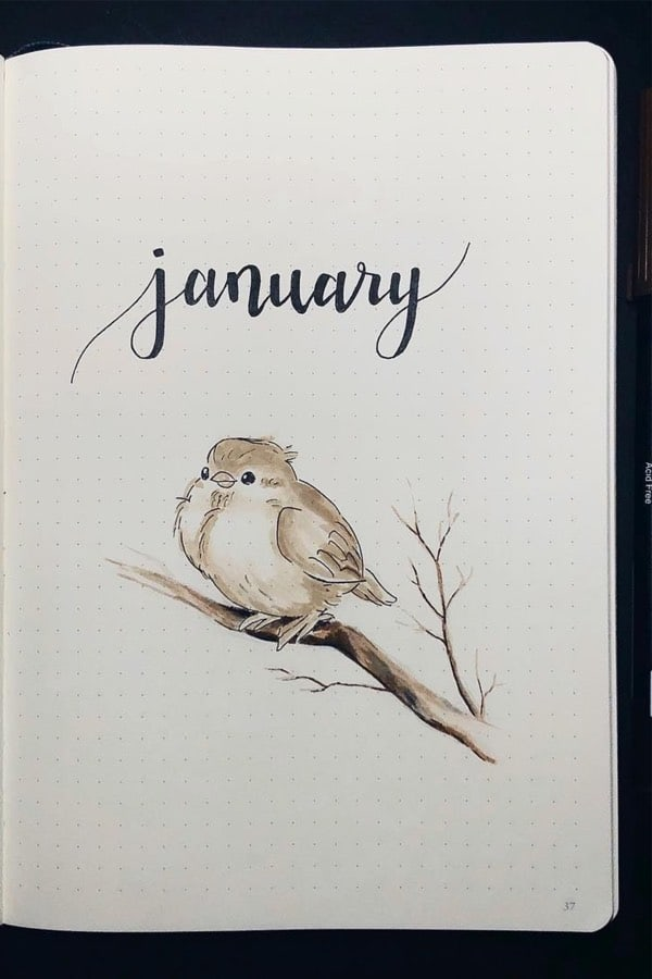 January monthly covers