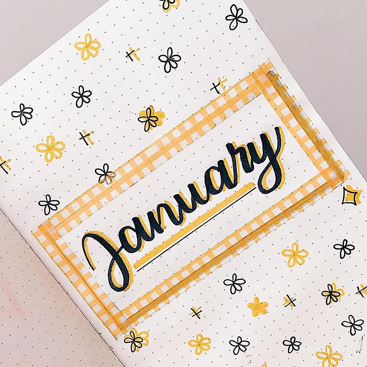 Bullet journal cover ideas